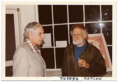 [Joseph Kaplan and Jacob Kainen]