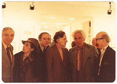 Jacob Kainen, Chaim Gross, Herman Rose and others
