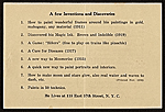 [Louis Michel Eilshemius' business card 1]