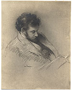 Reproduction of a sketch of Theophile Schneider
