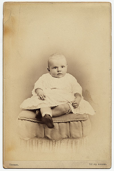Rockwell Kent as a baby