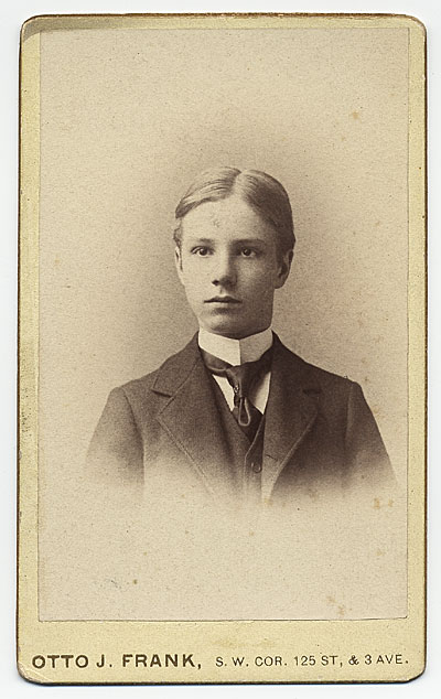 Rockwell Kent as a young man