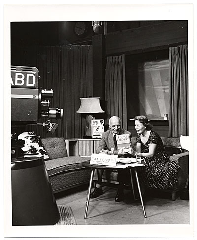 [Rockwell Kent during a television interview]