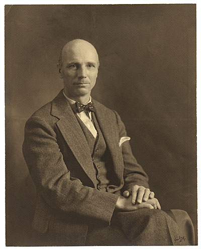 [Formal portrait of Rockwell Kent]