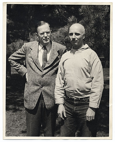 Rockwell Kent and George Putnam
