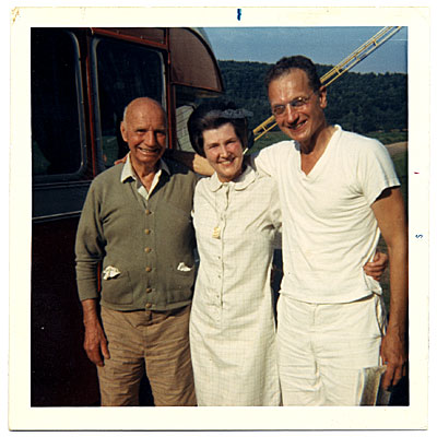 [Rockwell and Sally Kent with Vern Kautt]