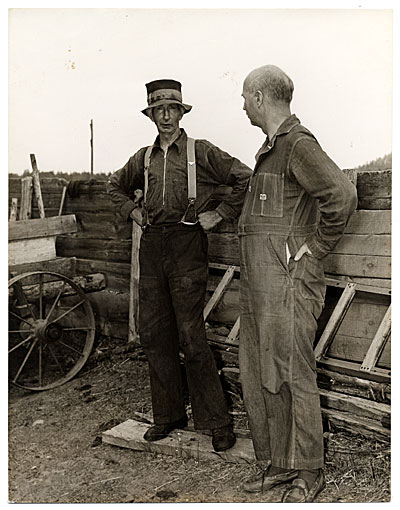 [Rockwell Kent and Walt Coolidge]