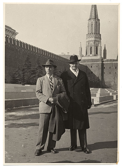 Rockwell Kent in Moscow