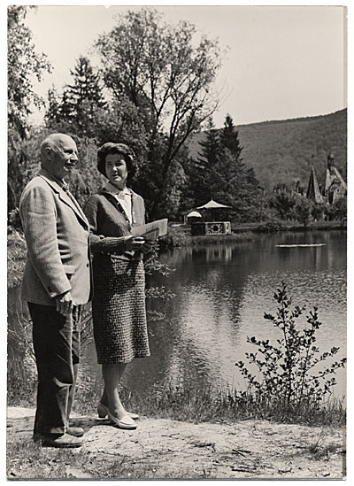 Rockwell and Sally Kent on a trip to the USSR
