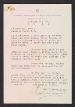 [Hal W. Trovillion letter to Rockwell Kent with enclosed bookplate ]