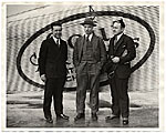 Rockwell Kent and two unidentified men