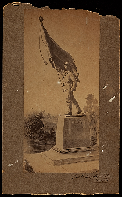 [Civil War soldiers' monument study]