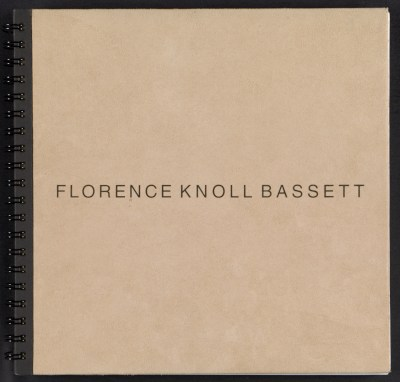Portfolio: a chronology of Florence Knoll Bassett from 1932 onward