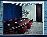 Connecticut General Building conference room designed by Florence Knoll Bassett.