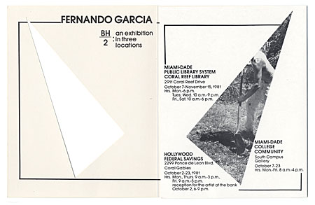 Fernando Garcia BH/2: an exhibition in three locations
