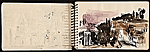 [Adolf Ferdinand Konrad sketchbook of travels to Rome and Egypt 2]