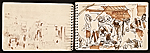 [Adolf Ferdinand Konrad sketchbook of travels to Rome and Egypt 4]