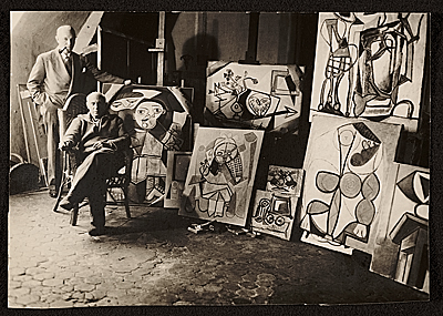 [Samuel Kootz and Pablo Picasso]