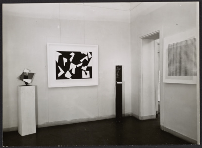 [View of an exhibition at the Galerie Denise René]