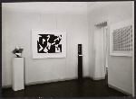 [View of an exhibition at the Galerie Denise René ]