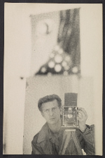 Chaim Koppelman self-portrait