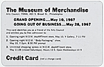 Museum of Merchandise credit card