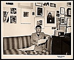 [Katharine Kuh in her office at the Art Institute  of Chicago]
