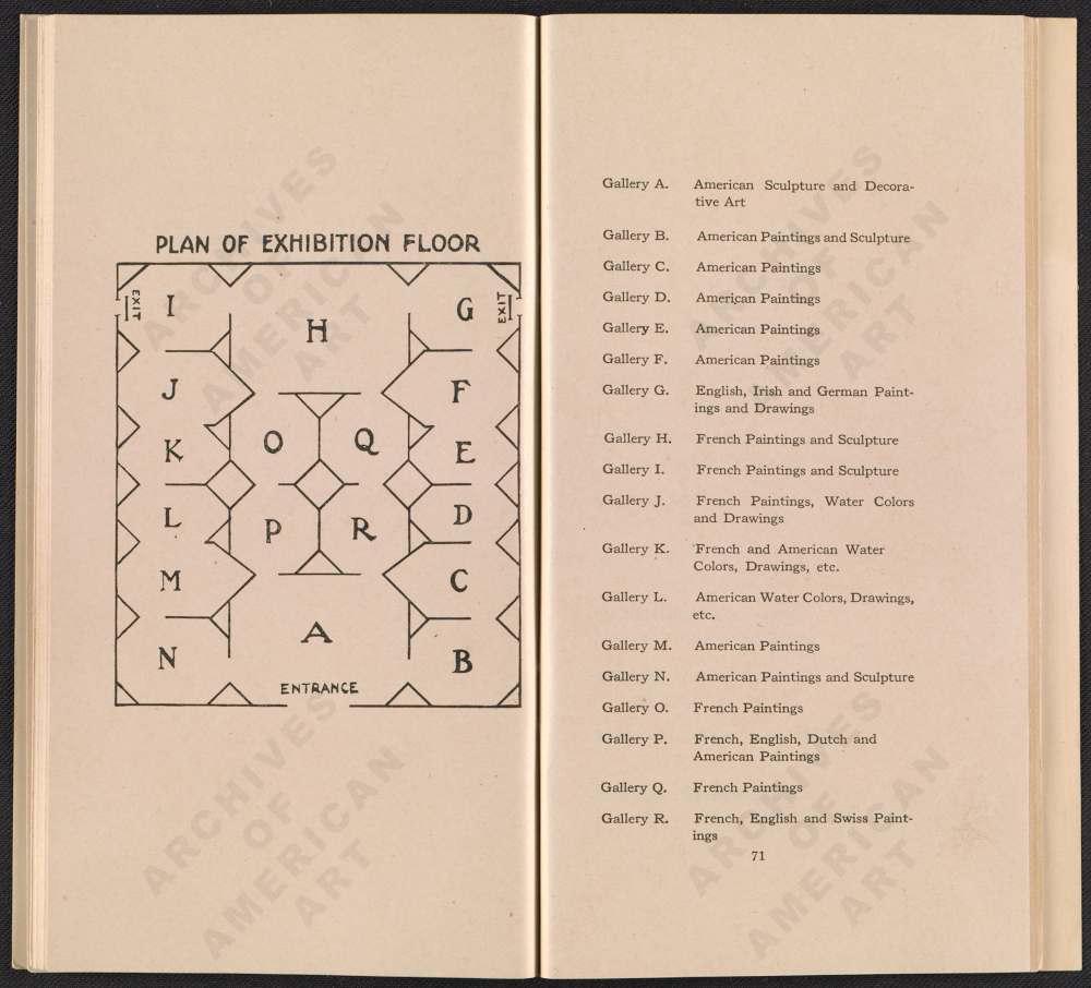 FIGURE 4: Catalogue of the International Exhibition of Modern Art