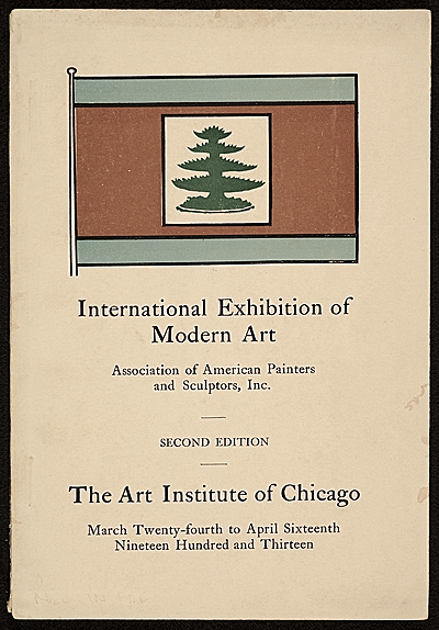 International Exhibition of Modern Art, Art Institute of Chicago, Chicago, Ill., second edition