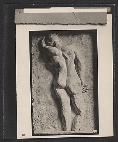 Plaster cast of Back I, sculpture by Henri Matisse
