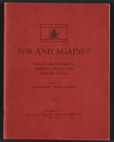 [For and against: views on the international exhibition held in New York and Chicago]