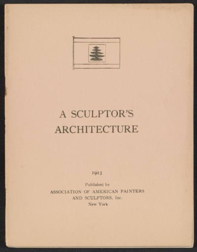 A sculptors architecture