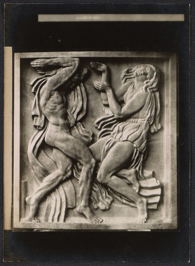 Relief sculpture by Emile Antoine Bourdelle