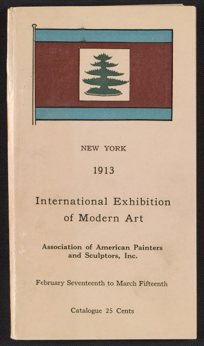 [Catalogue of the International Exhibition of Modern Art in New York]