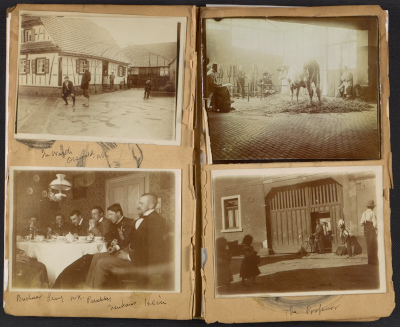Walt Kuhn volume 3 photo album, Germany