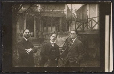 Marcel Duchamp, Raymond Duchamp-Villon and Jacques Villon