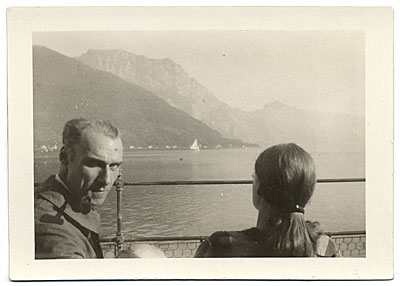 Walt and Brenda Kuhn in Europe