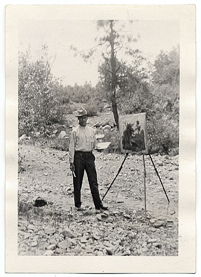 Walt Kuhn painting in Prescott