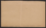 [Armory Show entry form for Duchamp-Villon's sculpture Maquette d'une facade verso 1]