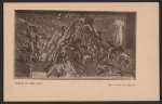 Armory show postcard with reproduction of Arthur B. Davies painting Birth of tragedy