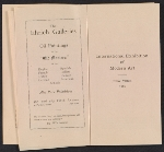 [Catalogue of the International Exhibition of Modern Art in New York pages 3]