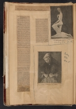 [Walt Kuhn scrapbook of press clippings documenting the Armory Show, vol. 1 pages 13]
