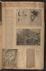 [Walt Kuhn scrapbook of press clippings documenting the Armory Show, vol. 1 pages 14]