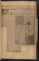 [Walt Kuhn scrapbook of press clippings documenting the Armory Show, vol. 1 pages 26]