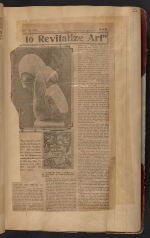 [Walt Kuhn scrapbook of press clippings documenting the Armory Show, vol. 1 pages 28]
