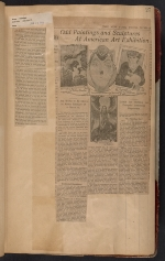 [Walt Kuhn scrapbook of press clippings documenting the Armory Show, vol. 1 pages 30]