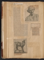 [Walt Kuhn scrapbook of press clippings documenting the Armory Show, vol. 1 pages 55]