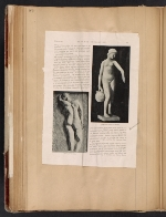 [Walt Kuhn scrapbook of press clippings documenting the Armory Show, vol. 1 pages 85]