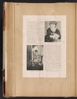 [Walt Kuhn scrapbook of press clippings documenting the Armory Show, vol. 1 pages 87]
