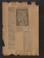 [Walt Kuhn scrapbook of press clippings documenting the Armory Show, vol. 2 pages 14]
